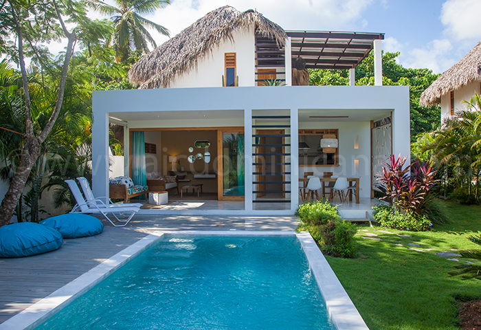 villa majabuta location villa neuve avec piscine las terrenas r publique dominicaine. Black Bedroom Furniture Sets. Home Design Ideas